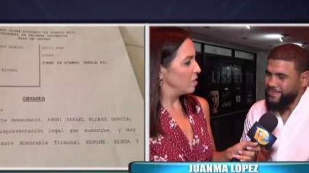 Juanma López reacciona a demanda