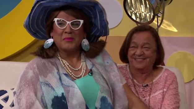 La mamá de Herbert es fanática de Alba Bosa