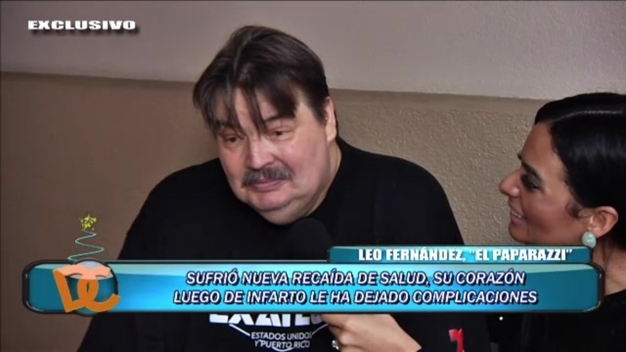 Leo Fernández sufre nueva recaída de salud