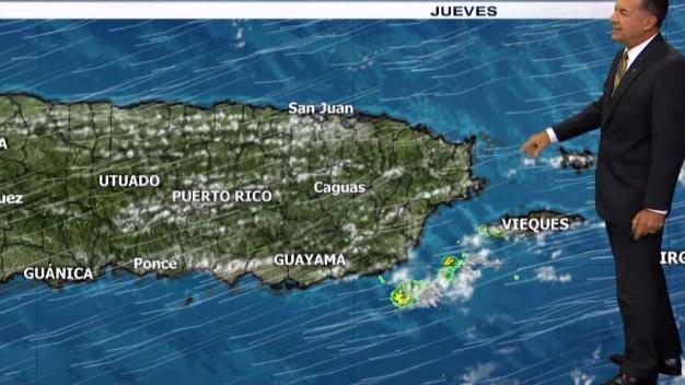 Masa de aire seco afecta la Isla