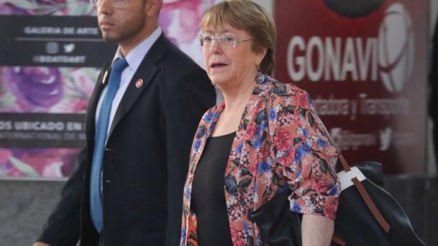 Bachelet, en Venezuela para discutir derechos humanos