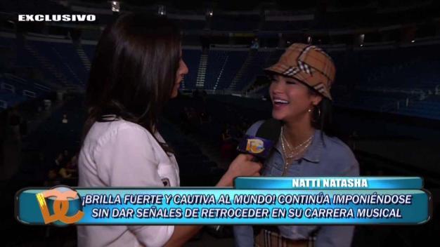 """Natti Natasha: """"Puerto Rico me ha dado tanto"""""""