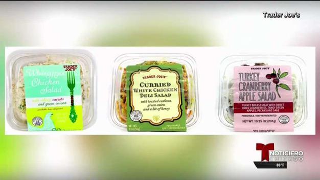 Retiran ensaladas de Trader Joe's por posible vidrio