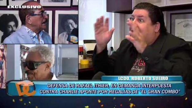 ¿Por qué Rafael Ithier demanda a Charlie Aponte?