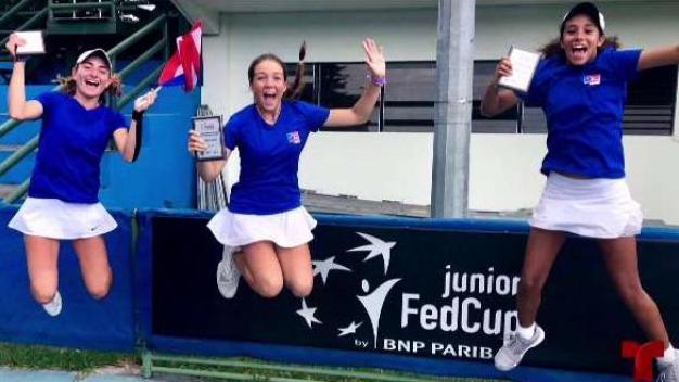 Puerto Rico subcampeón en el Tenis Juvenil