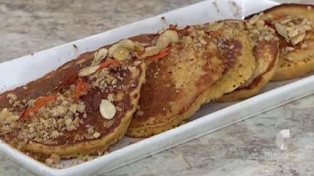 ¡Inténtalo! Pancakes de zanahoria