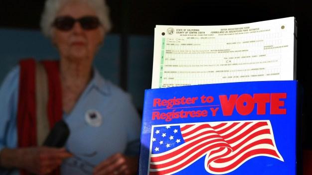 ¿No estás inscrito para votar? Este es el día para hacerlo