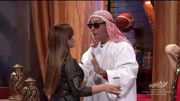 Sammy logra conquista con estilo árabe