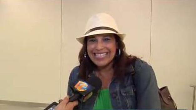 Contenta con el apoyo cubano a Gilberto Santa Rosa