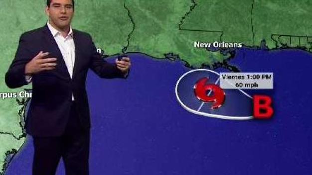 Sistema tropical amenaza las costas del Golfo