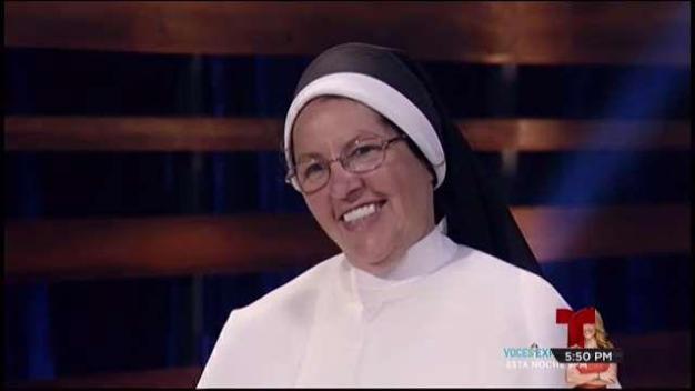 Sor Juliana compite por su comunidad de Maricao