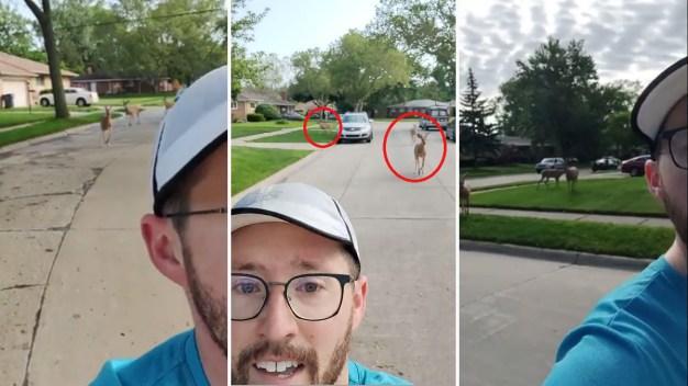 """Viral: perseguido por """"sospechosos"""" decide grabarse corriendo"""