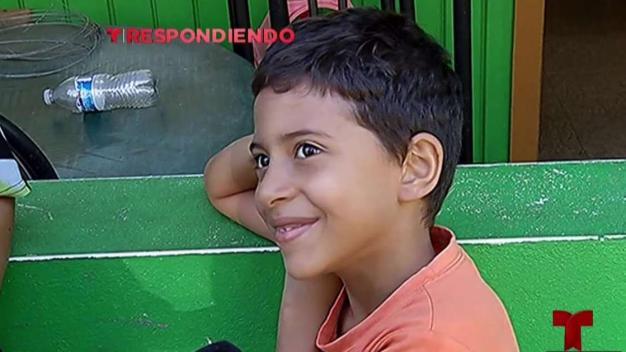 Telemundo llega para ayudar familia en Corozal