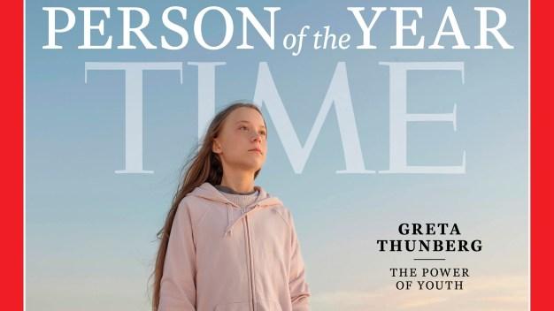 Time elige a joven activista como persona del año