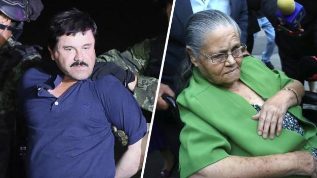 """Aprueban visa a madre de """"El Chapo"""" para que lo visite"""