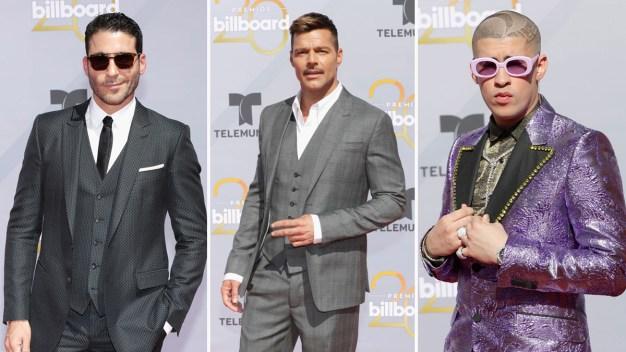 Premios Billboard 2018: Los galanes de la alfombra roja