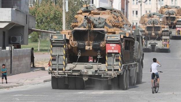 Cese al fuego en Siria: salen soldados de EEUU