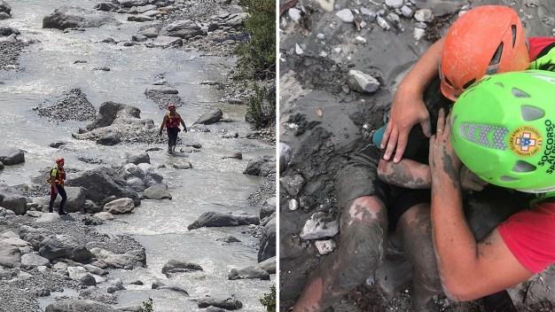 Mueren excursionistas tras violento desborde de río