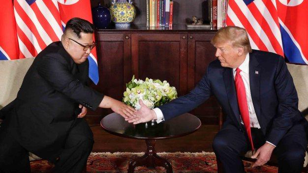 Trump abre la puerta a una segunda cumbre con Kim