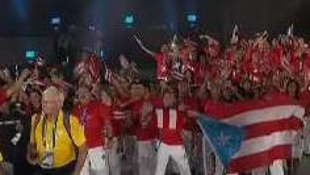 Así celebraron los boricuas en la clausura de Barranquilla
