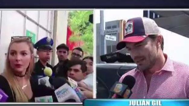 """Julián Gil: """"es un proceso sumamente doloroso"""""""