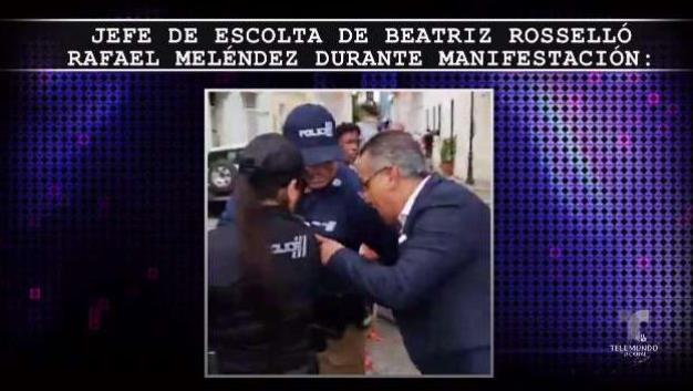 ¿Por qué escolta de Beatriz Rosselló ordenó arresto?