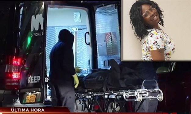 Mujer muere tras recibir un tiro en el rostro en plena calle