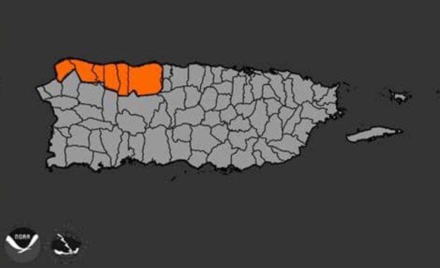 Advertencia de inundaciones para varios municipios