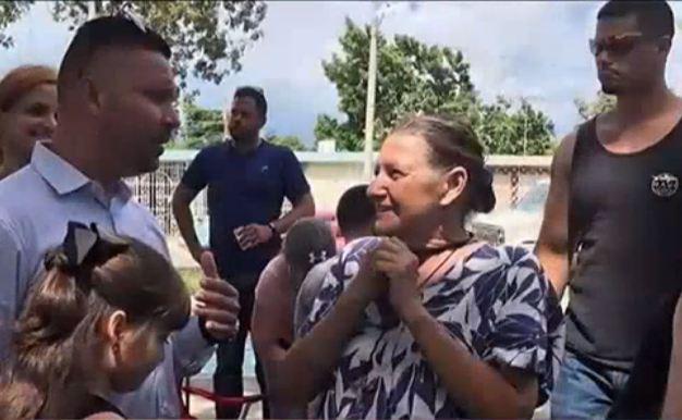 Llega la ayuda para pareja de ancianos en Ponce