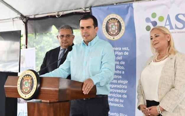 Rosselló presenta el nuevo modelo del plan de salud VITAL