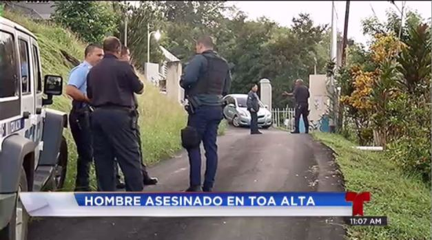 Hombre es asesinado en Toa Alta