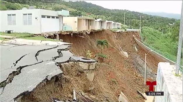Deslizamiento de tierra derrumba sus vidas