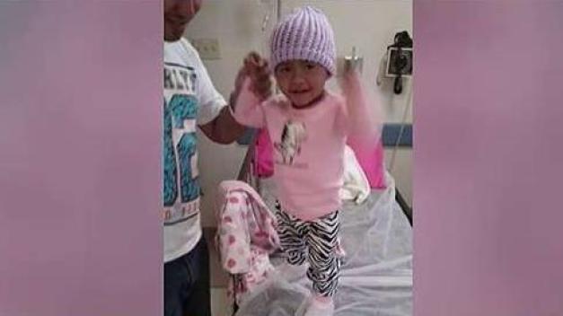 Madre suplica por donaciones para salvar su pequeña