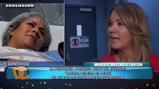 Maribel Meléndez Fontán investiga moderno método en operación bariátrica