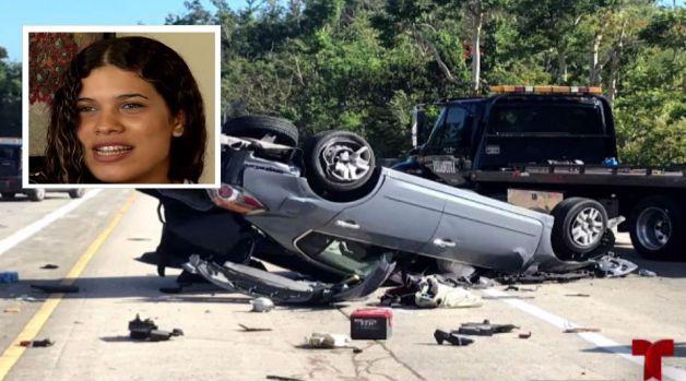 Sobrevive a accidente y alerta sobre peligros en la carreteras