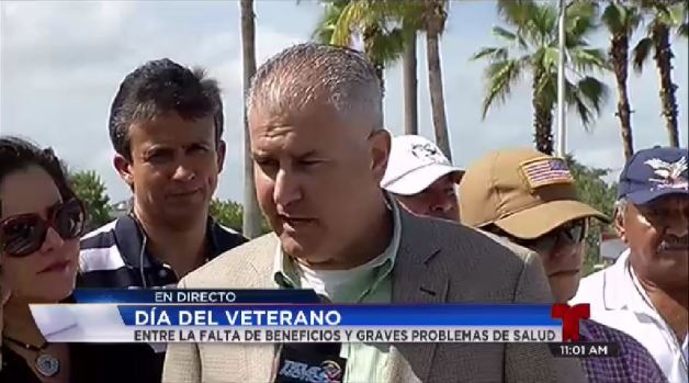Agridulce celebración de los veteranos