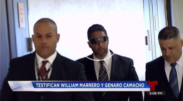 Testifican William Marrero y Genaro Camacho
