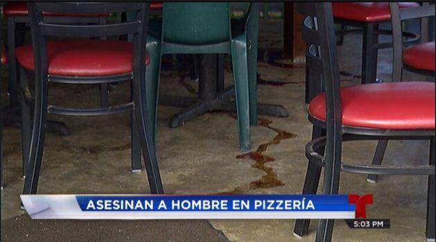 Fotos: Pizzería es escenario de violento ataque