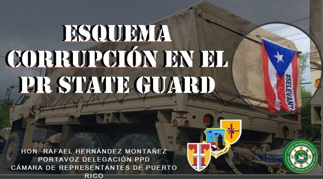 Supuesto esquema de corrupción en la PR State Guard