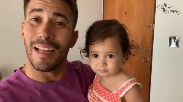 Tommy Ramos se confiesa: la dificil tarea de ser papá y cumplir con el trabajo