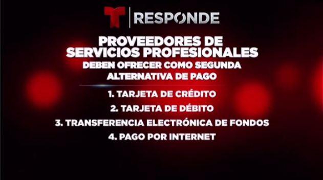 Cómo va la imposición de ley para opciónes de pagos electrónicos