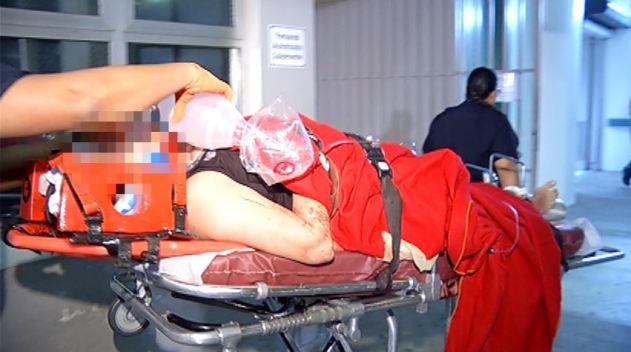 Llega a Centro Médico madre accidentada con bebé en Carolina