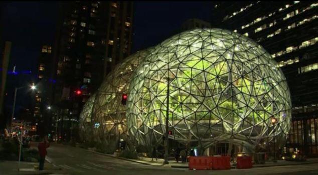 [TLMD - NATL] Esferas gigantes en sede de Amazon, tomar el break en la selva