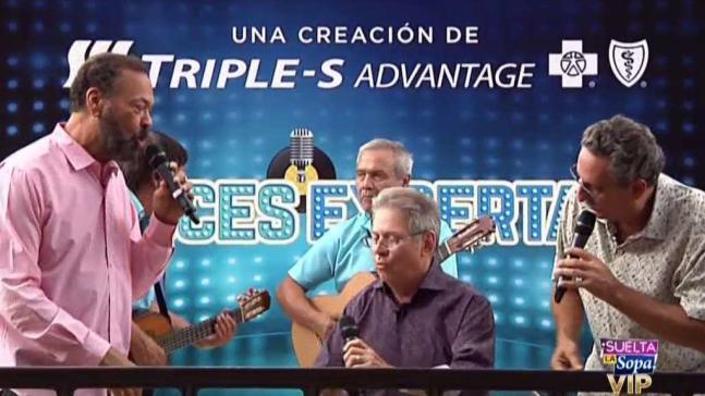 Chucho Avellanet se va hasta abajo cantando reguetón
