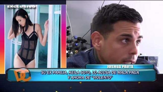 Joshua Pauta es acusado de agresión por su ex pareja