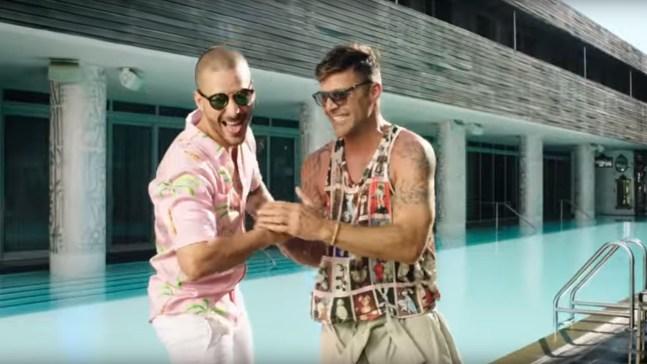 Ricky Martin y Maluma calientan el ambiente en nuevo video