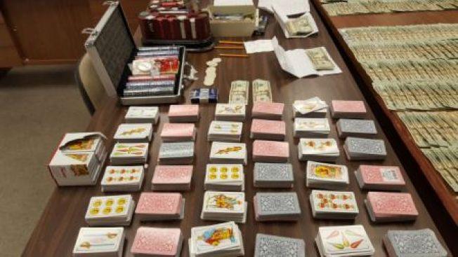 Arrestan a 24 en allanamiento por juegos de azar