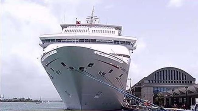 Mal tiempo altera rutas de cruceros