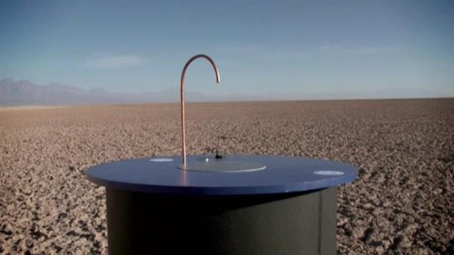 Presentan máquina que convierte el aire en agua