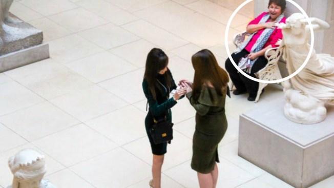 Reacción de testigo por propuesta matrimonial se hace viral